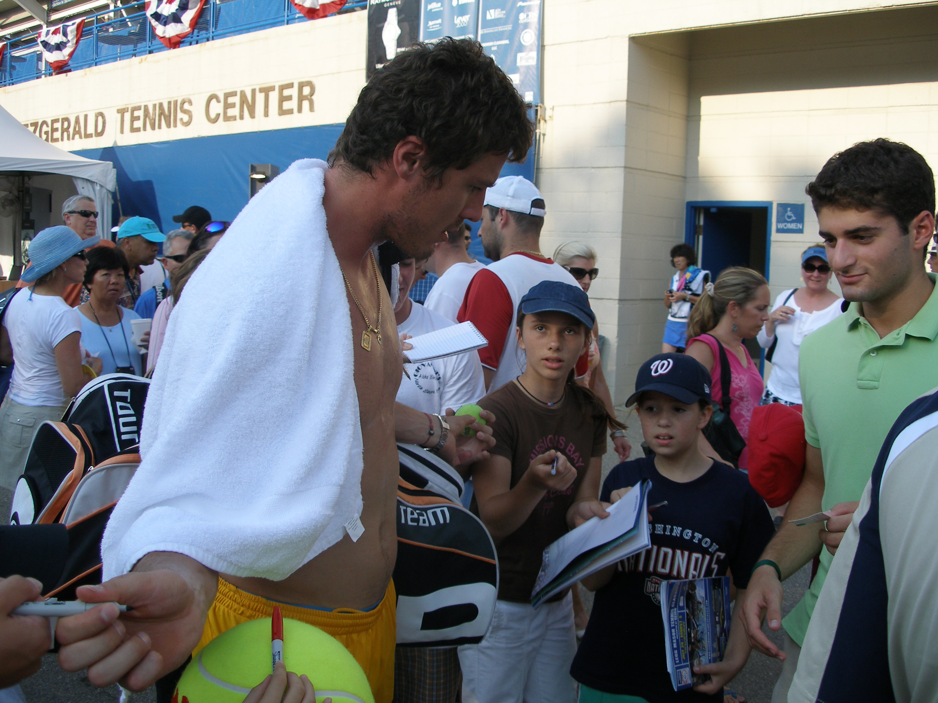 Biofile Marat Safin Interview 1999 · Tennis Prose
